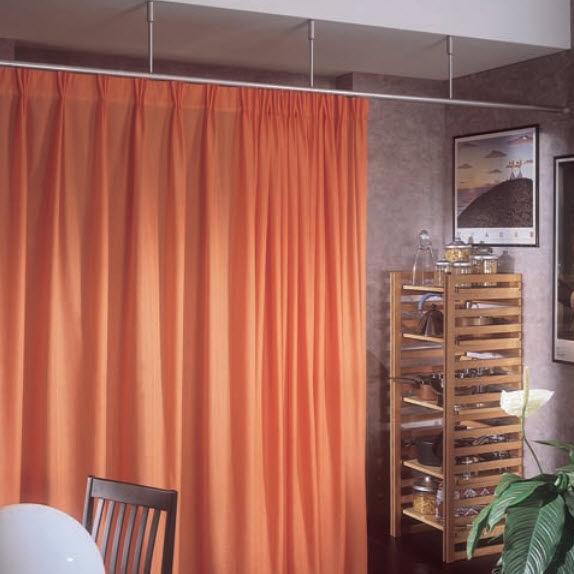 Préférence Rail à rideaux pour rideau drapé / professionnel / pour  KL07