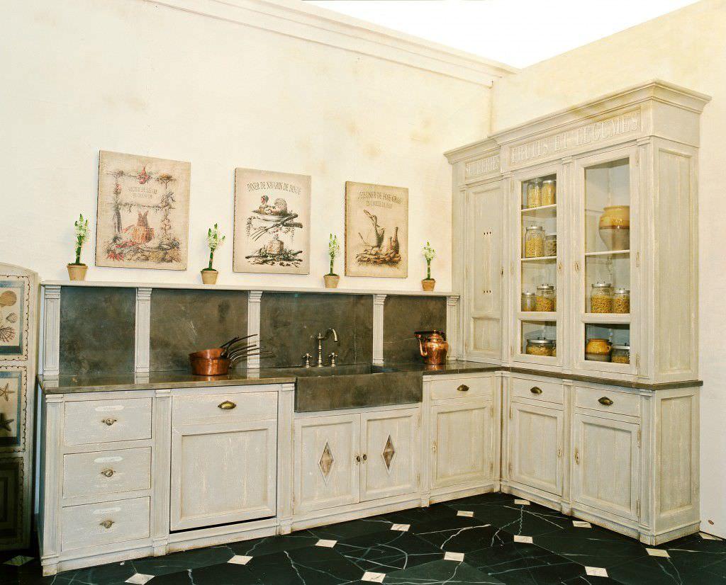 Cuisine classique / en bois - HERBORISTE - PROVENCE & FILS
