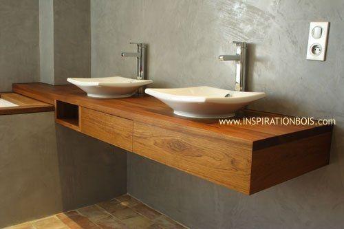 61453 1488285 Résultat Supérieur 17 Incroyable Meuble Double Vasque Suspendu Photographie 2018 Kae2