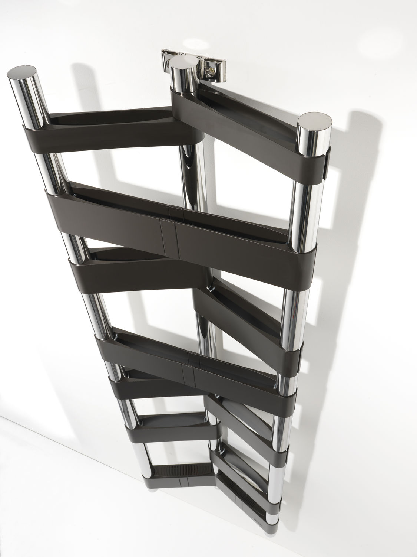Sèche serviettes électrique / en aluminium / contemporain / de ...