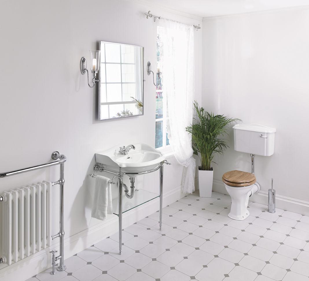 Console pour lavabo en verre   hardwick   heyford   imperial bathrooms