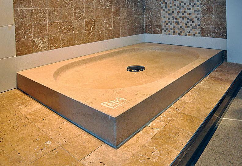 receveur de douche pierre naturelle