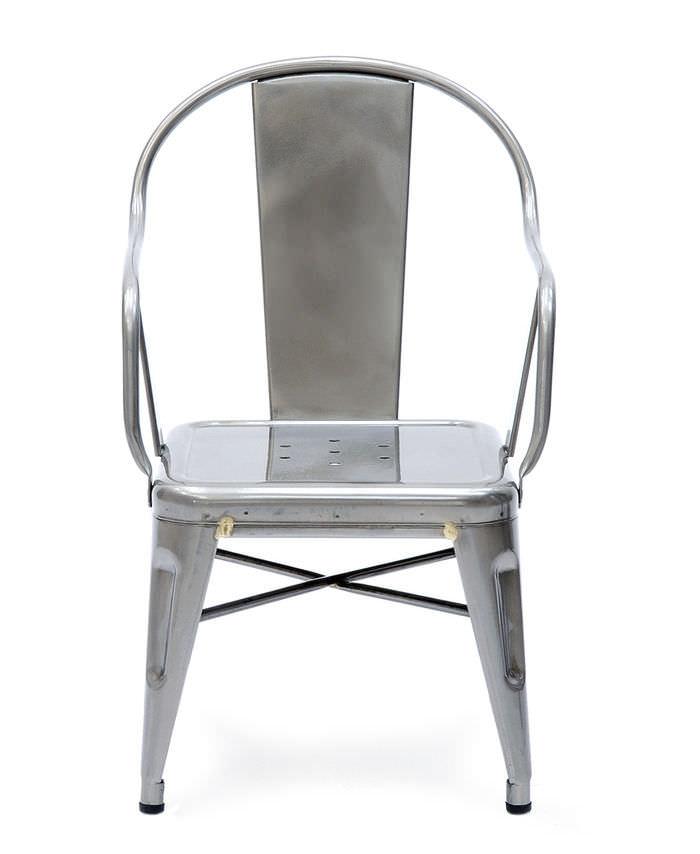 Chaise De Style Industriel Avec Accoudoirs Empilable Pour Enfant