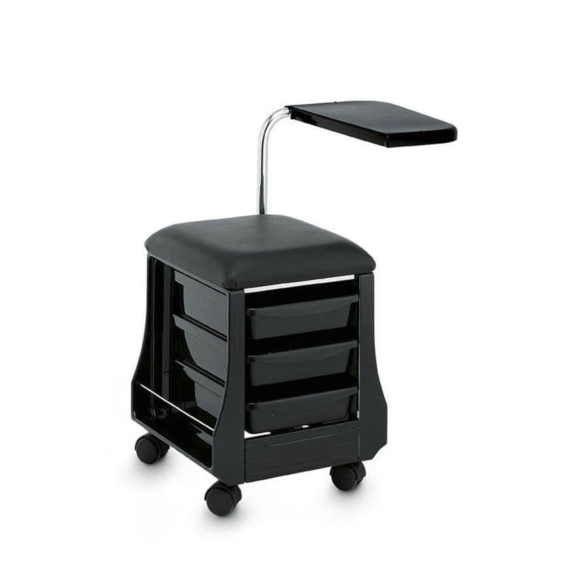 Chariot de soins / pour salon d\'esthétique / en acier - MINI MANI ...
