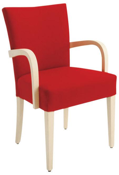 chaise classique / en hêtre / avec accoudoirs - aqua by s.t.i. ... - Chaise Fauteuil Avec Accoudoir