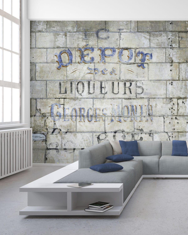Papiers peints de style industriel / design original ...