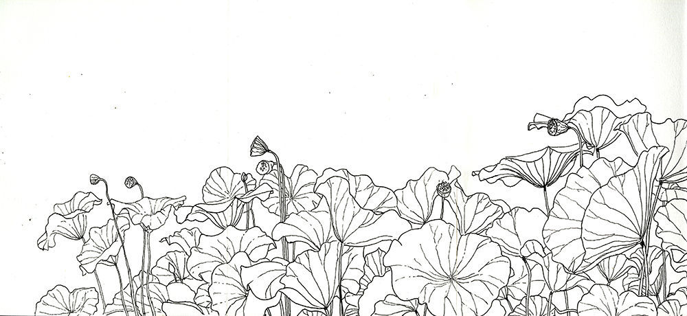 Papier Peint Design Original Contemporain A Motif Floral Japon