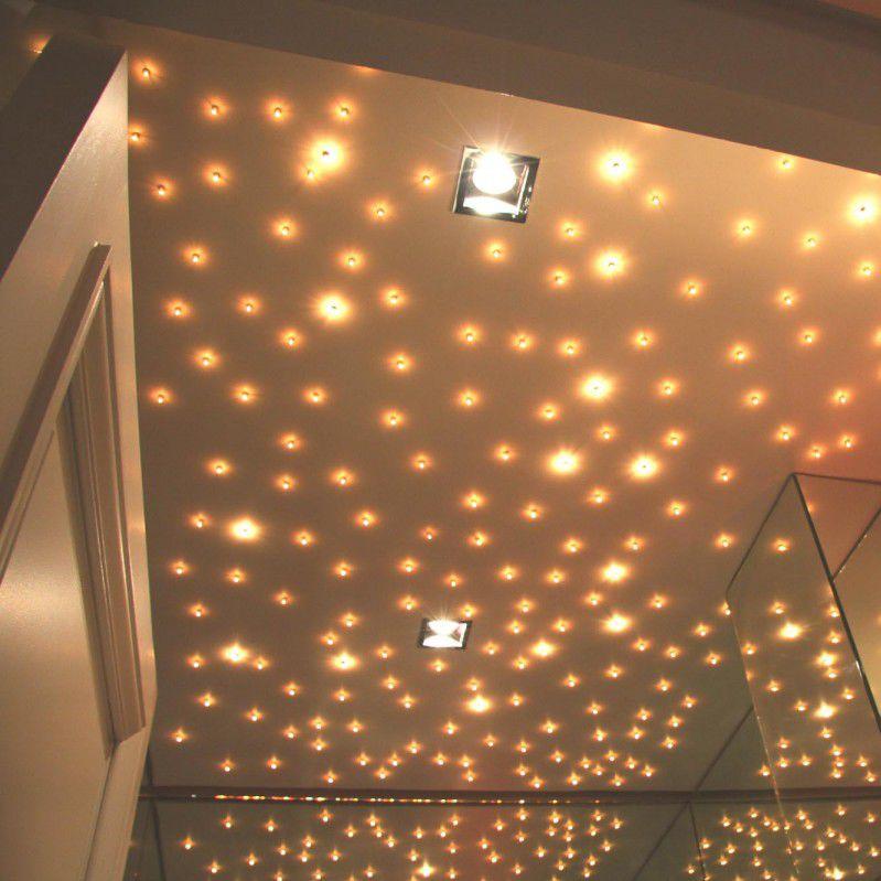 Spot Encastrable Au Plafond à Led Carré En Métal Ciel étoilé