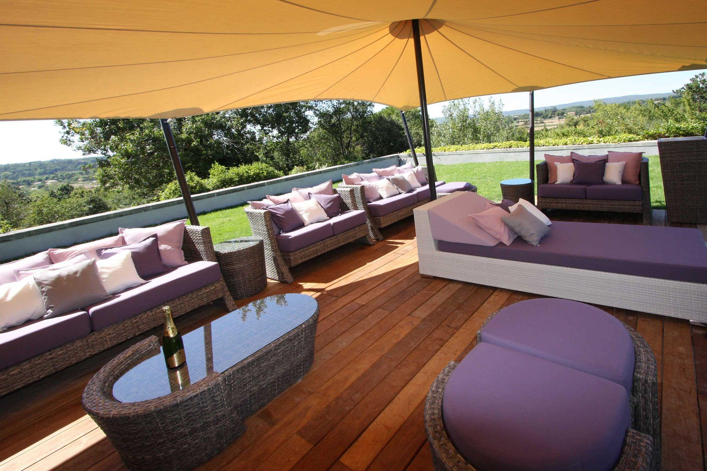 Gazebo toit en toile - TENTE TOUAREG JARDIN AIXOIS - Atelier Aude ...