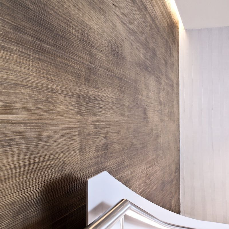 Enduit décoratif / d\'intérieur / pour mur / en plâtre - PIERRE DE ...