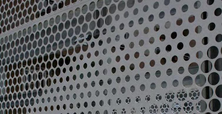 Connu Tôle métallique perforée / en acier galvanisé / pour bardage  AF93