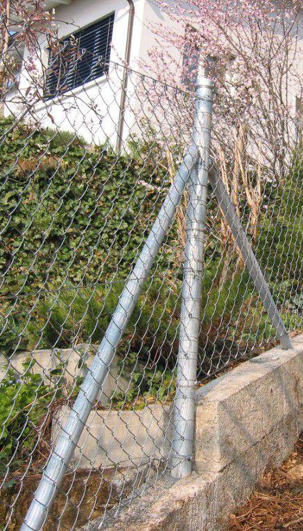 Clôture de jardin / grillagée / en métal - GALVANISE - Jacot des Combes
