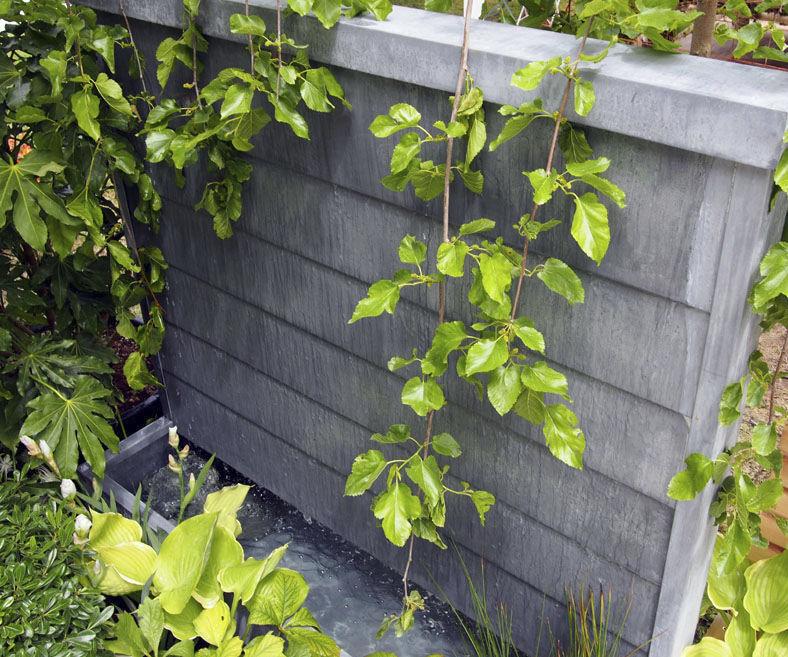 Fontaine de jardin / en zinc - WALL FOUNTAIN by Olivier Joannin ...