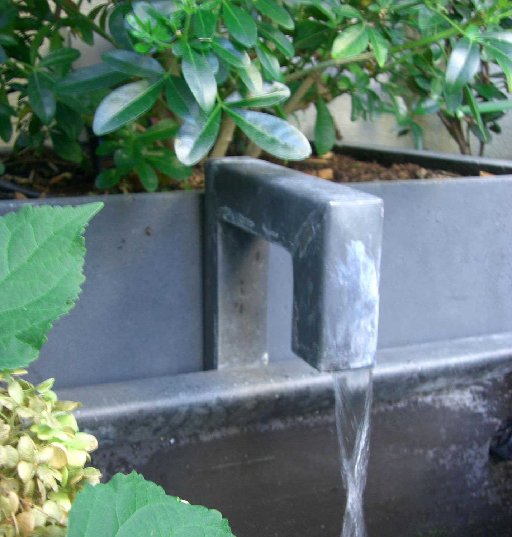 Fontaine de jardin / en zinc - \'by Olivier Joannin - Tonton Zingueur