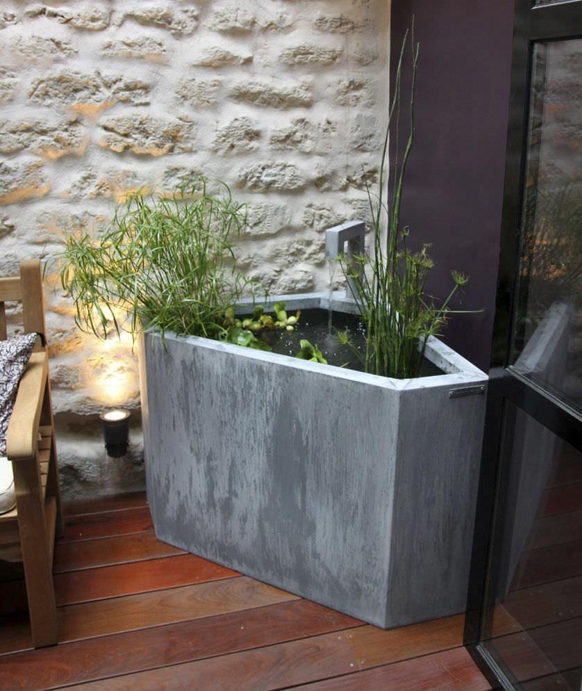 Fontaine de jardin / d\'intérieur / en zinc - by Olivier Joannin ...