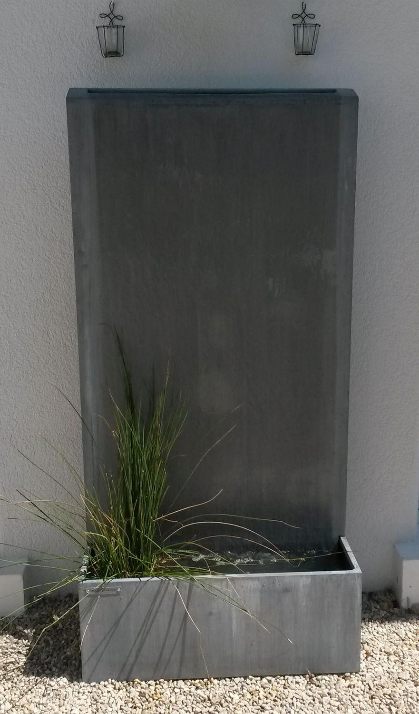 Fontaine de jardin / en zinc - ,,by Olivier Joannin - Tonton Zingueur