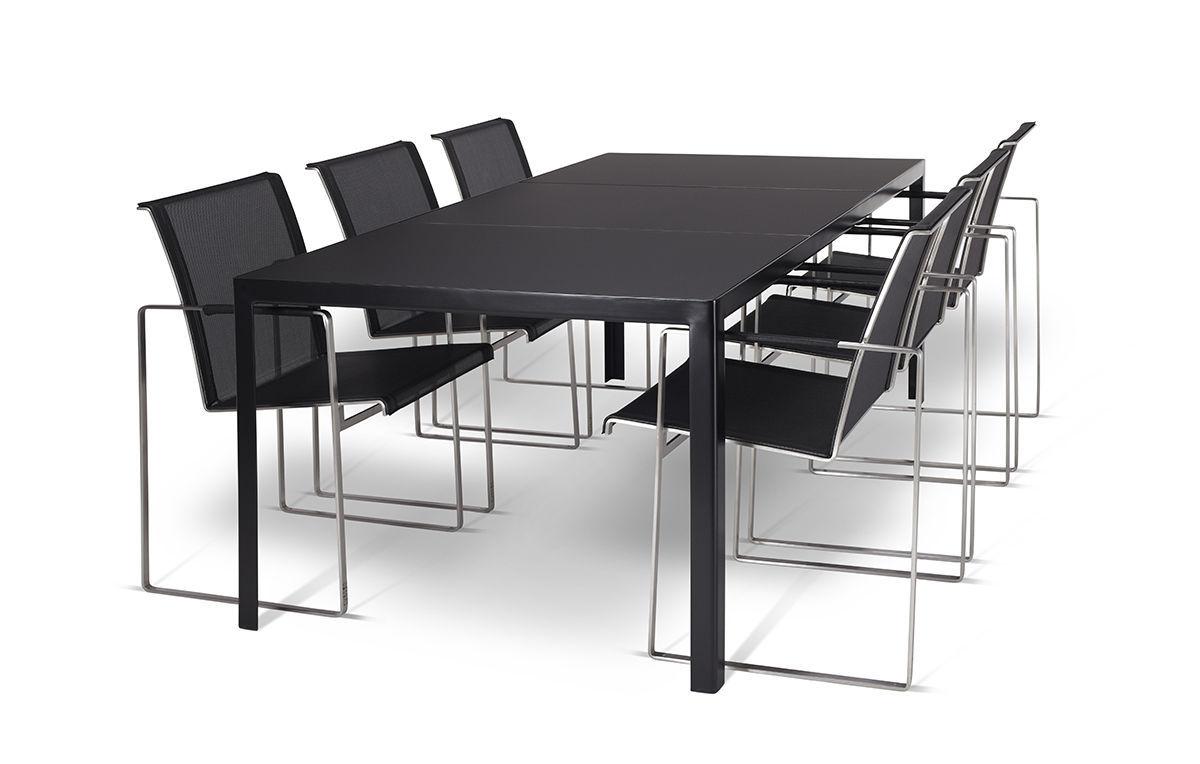 Chaise de salle à manger / contemporaine / en Batyline® / en acier ...