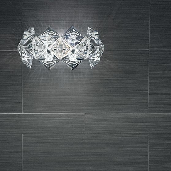 À Prisma820 Led En Cristal Murale Applique Contemporaine tsQBoChrdx