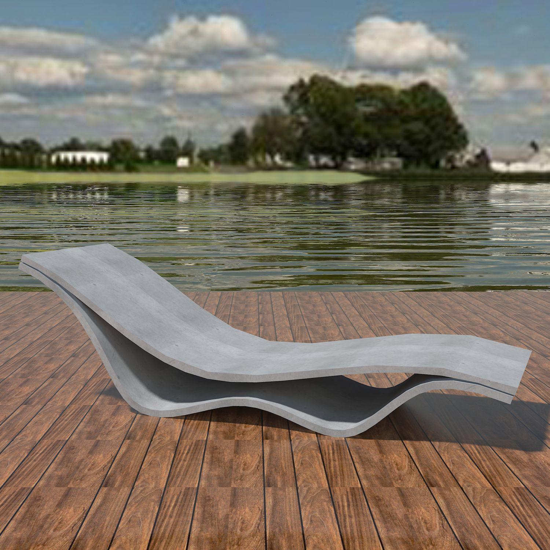 Bain De Soleil Design Minimaliste En Bton Haute Performance Pour Espace Public Modulable