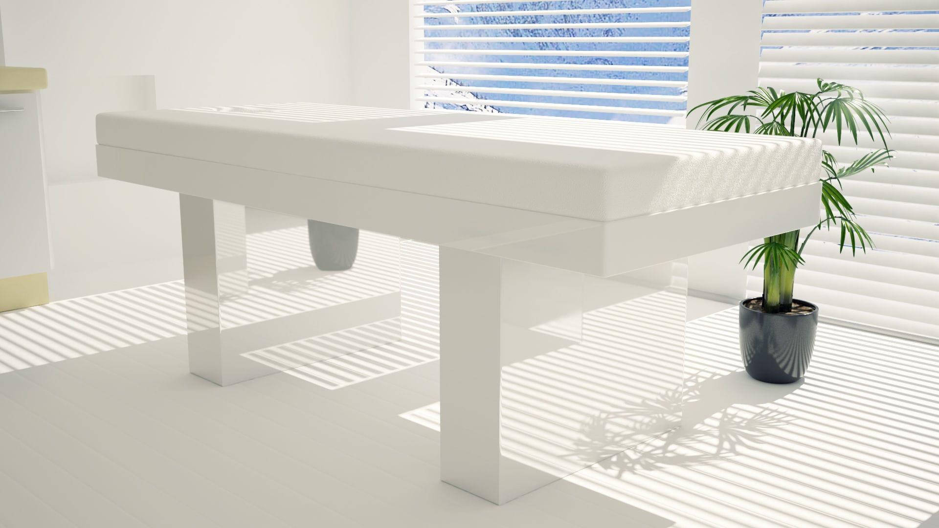 Table De Massage Electrique En Bois A Hauteur Reglable Avec