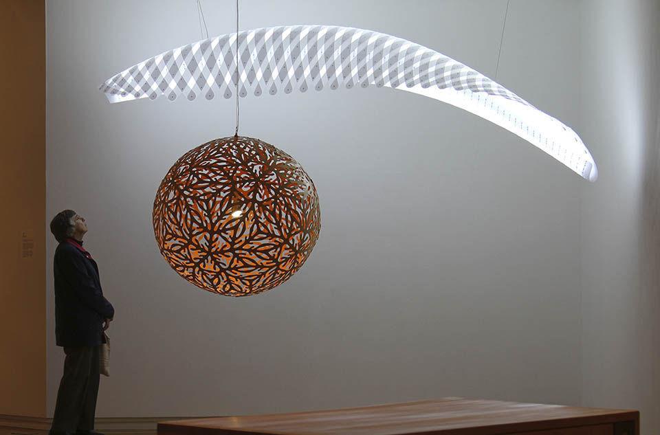 Lampe david trubridge