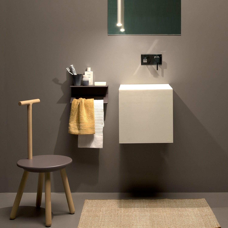 Tabouret de douche / contemporain / en hêtre / de salle de bain ...