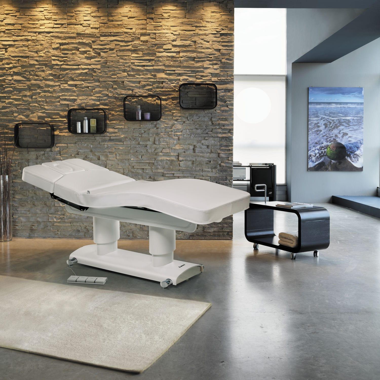 Table De Massage Electrique En Bois A Hauteur Reglable
