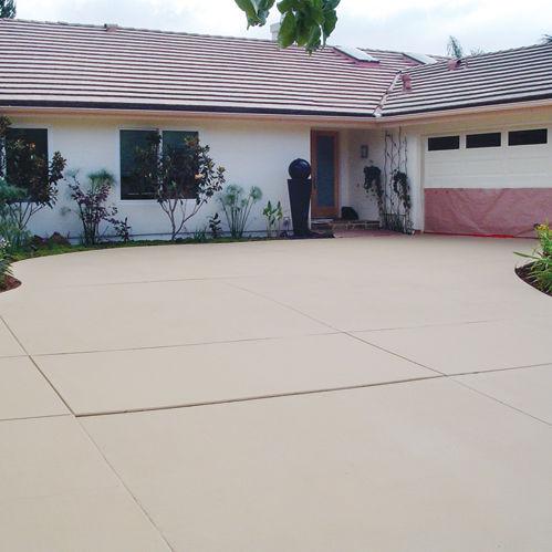 enduit de finition de sol acrylique pour bton brickform cem coat - Ciment Color Exterieur