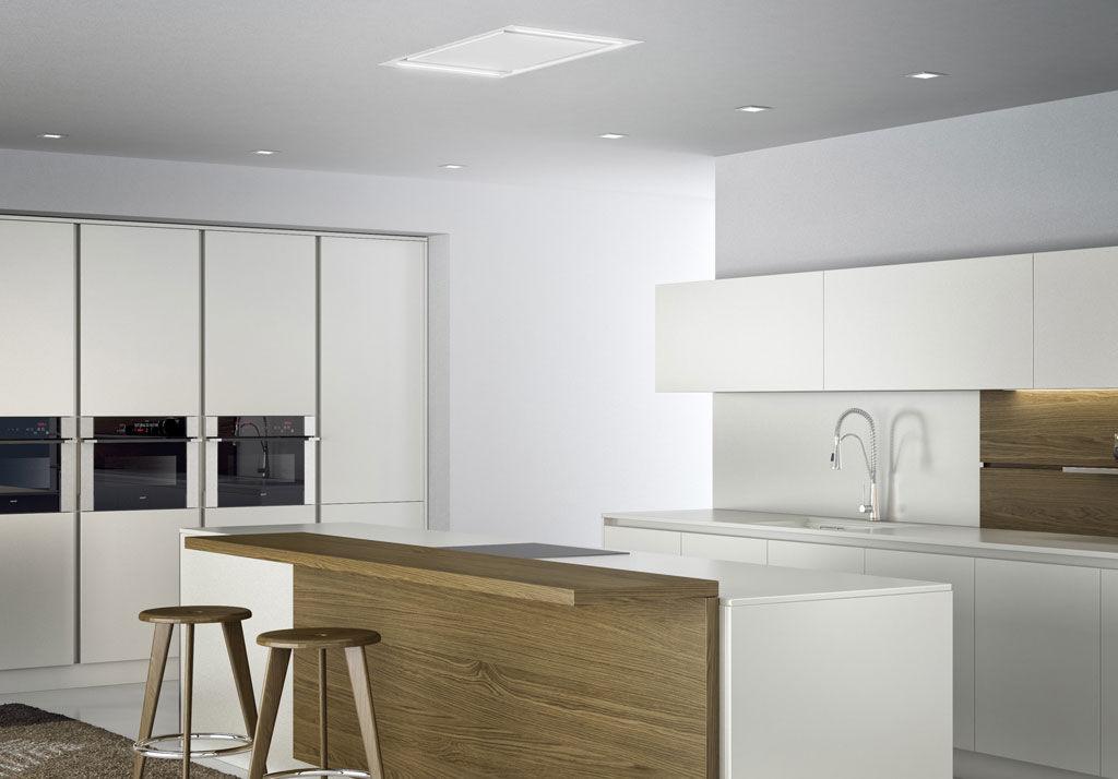 Hotte De Cuisine De Plafond Avec éclairage Intégré NITRO - Hotte de cuisine plafond