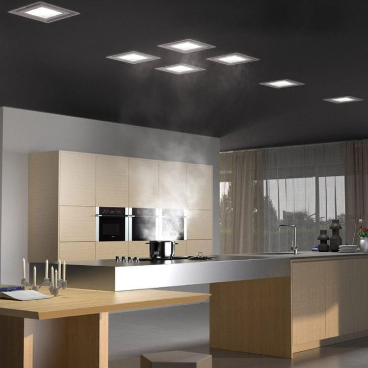 Hotte De Cuisine De Plafond  Avec clairage Intgr  Paradigma