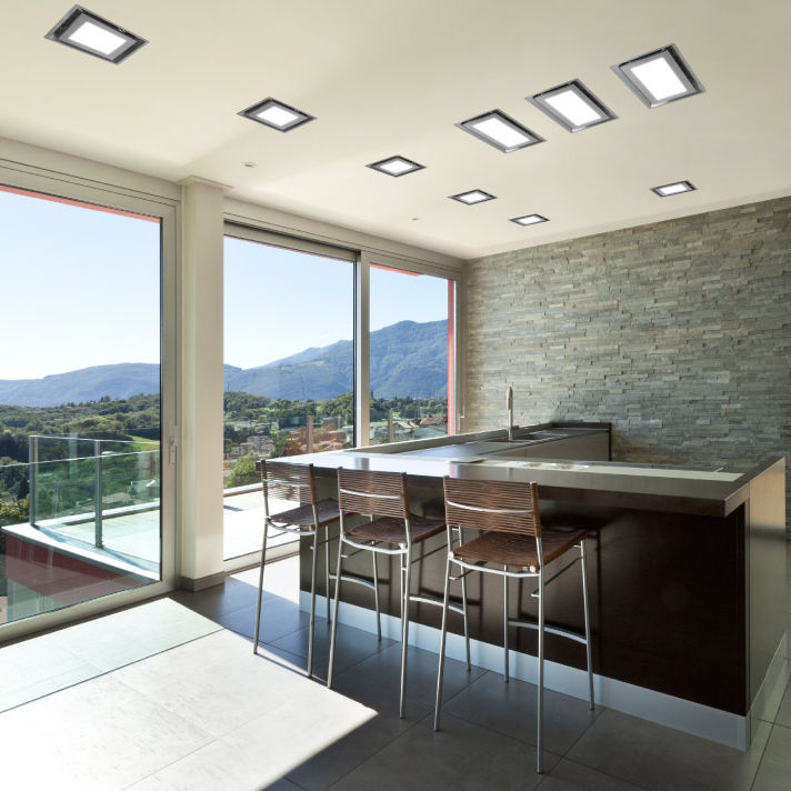 Hotte De Cuisine De Plafond Avec éclairage Intégré PARADIGMA S - Hotte de cuisine plafond