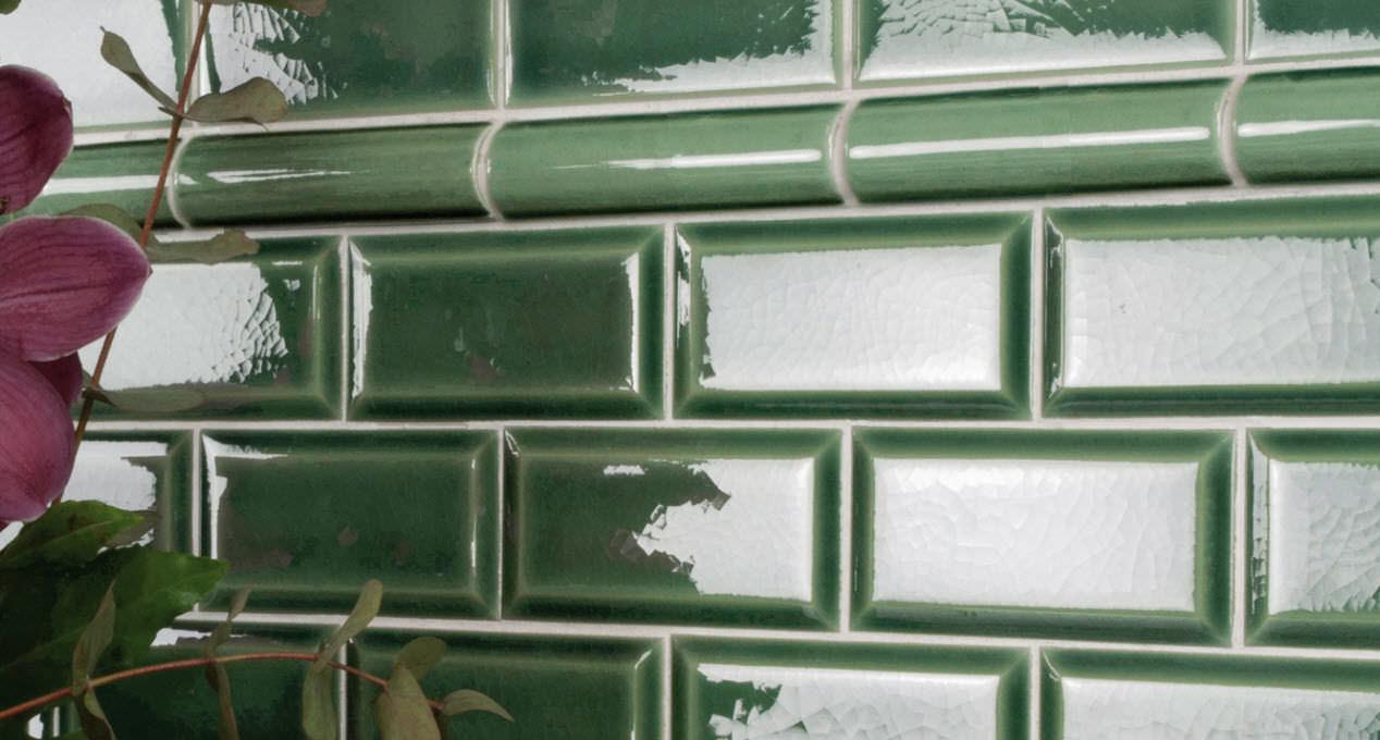 Carrelage d\'intérieur / mural / en céramique / métro parisien ...