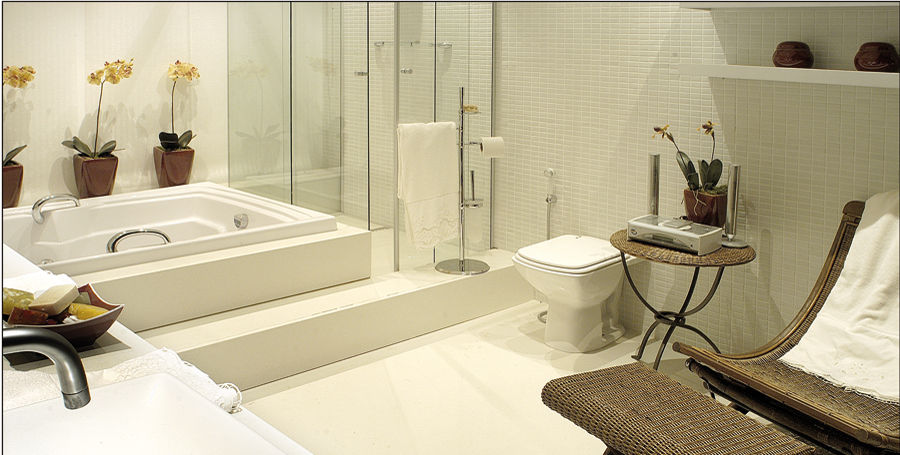 Carrelage de salle de bain / au sol / en marbre / uni - BLANCO MICRO ...