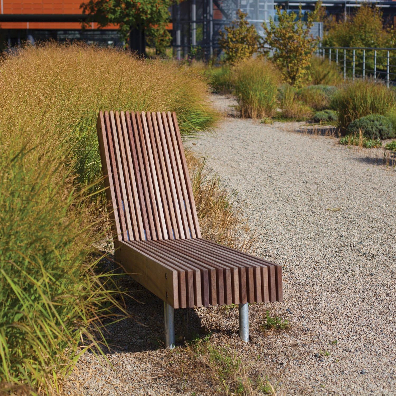 Espace Public En Woody Pour Bois Longue Contemporaine Chaise DIWEH29Y