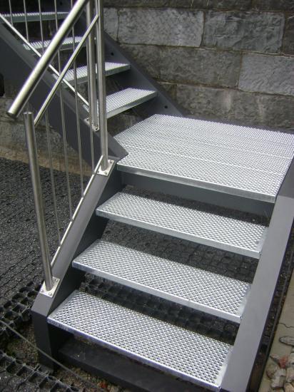 escalier quart tournant exterieur