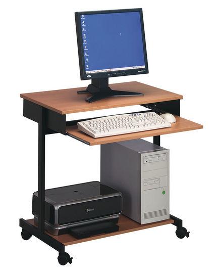 table d'ordinateur contemporaine / en bois / en mélaminé