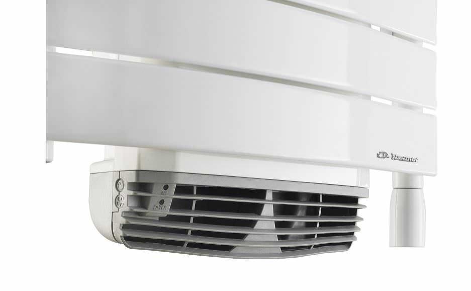 sèche-serviettes électrique / en métal / contemporain / vertical ... - Radiateur Soufflant Salle De Bain Thermor