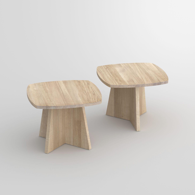 Table Basse Design Original En Chene En Noyer En Bois