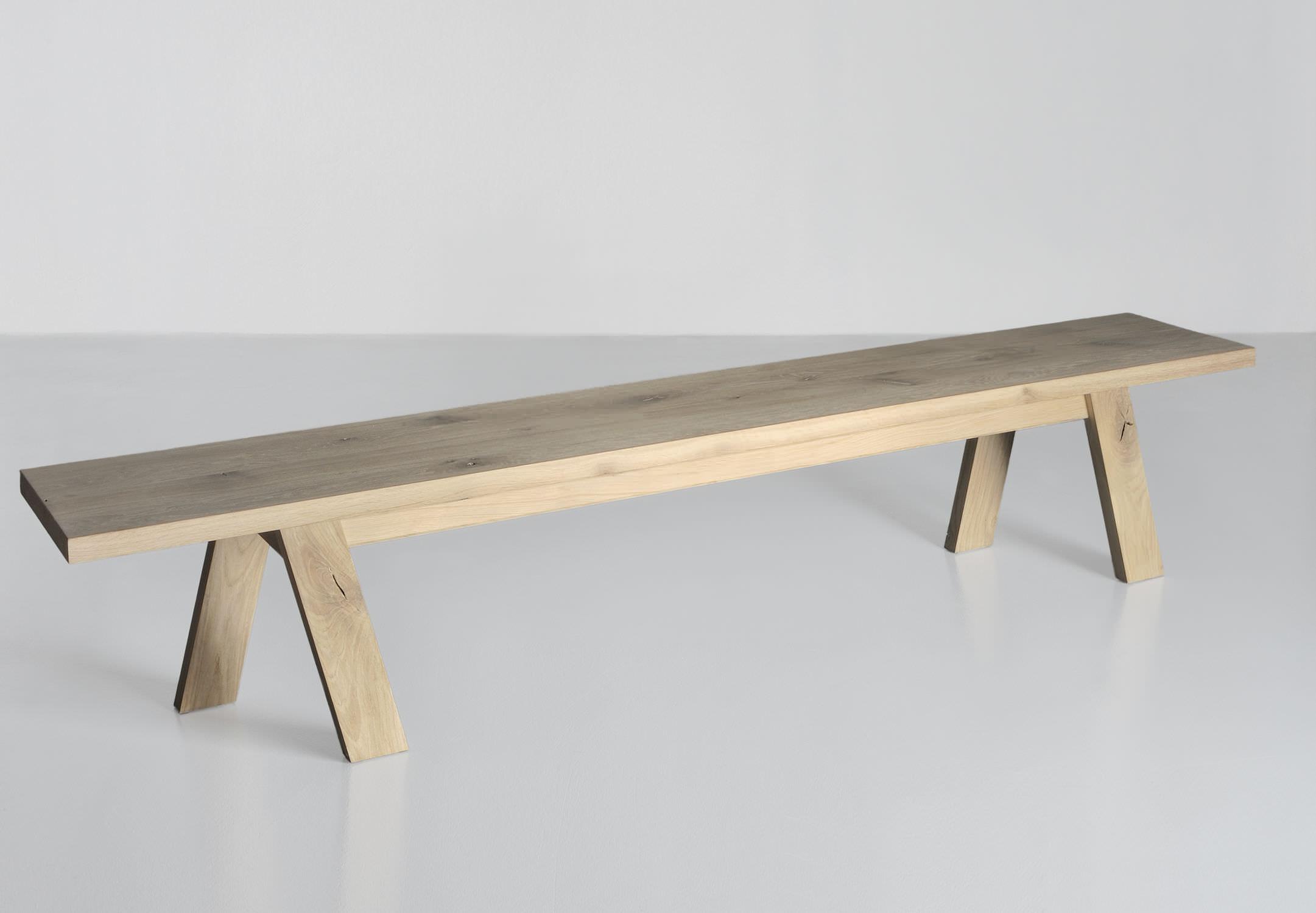 Banc contemporain / en bois massif - GO - vitamin design (Dona ...