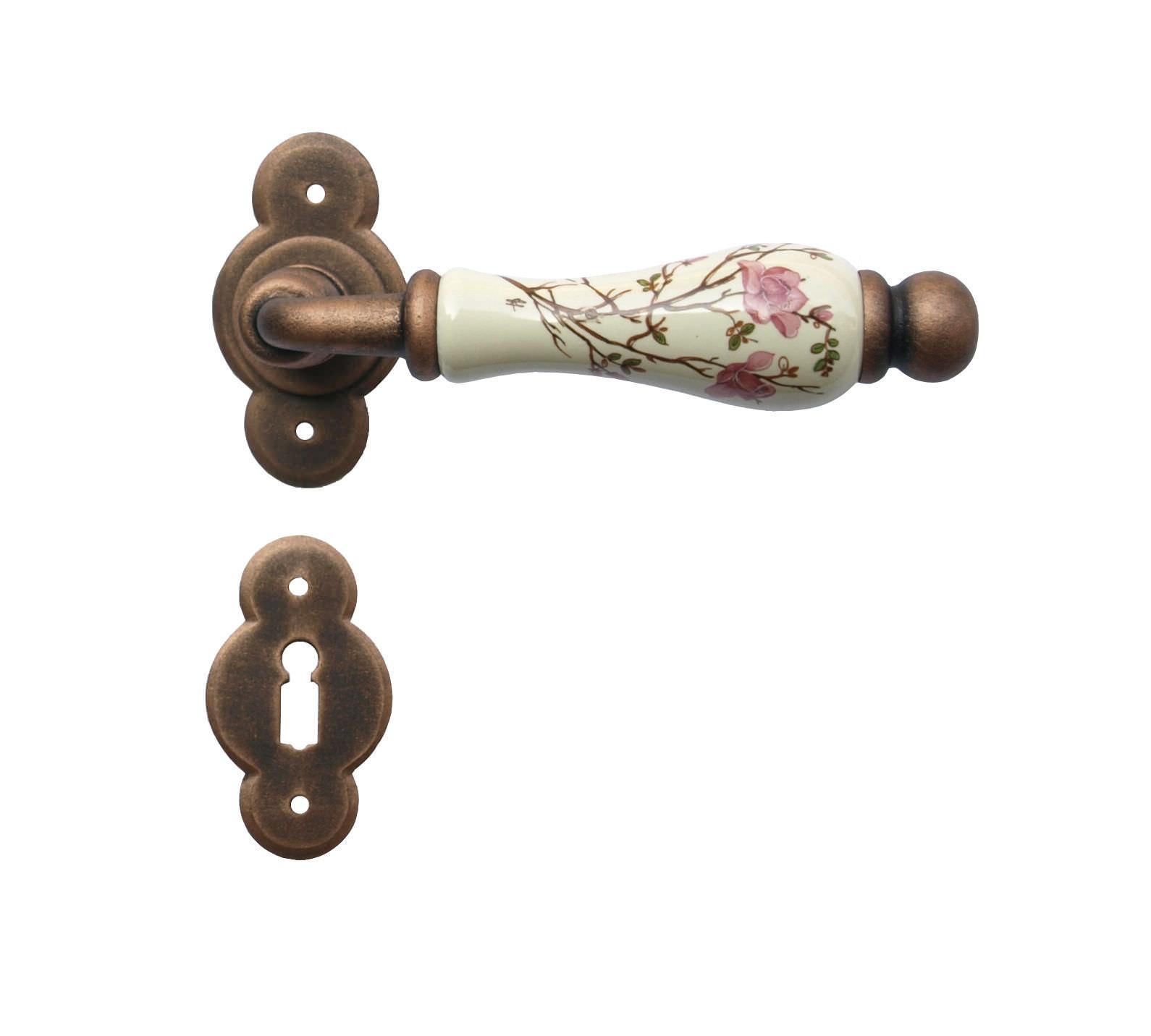 Poignée De Porte / En Porcelaine / Classique - 1-20