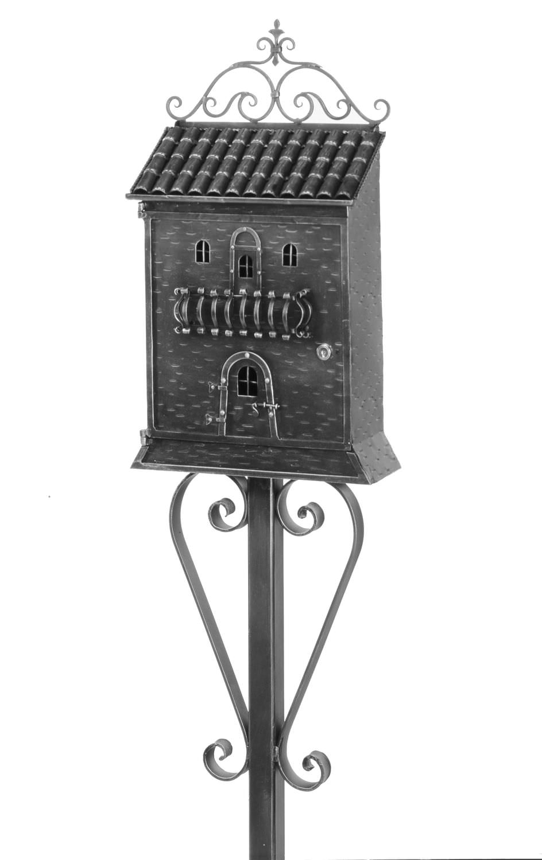 boîte aux lettres sur pied / individuelle - art.869 - galbusera g.&g