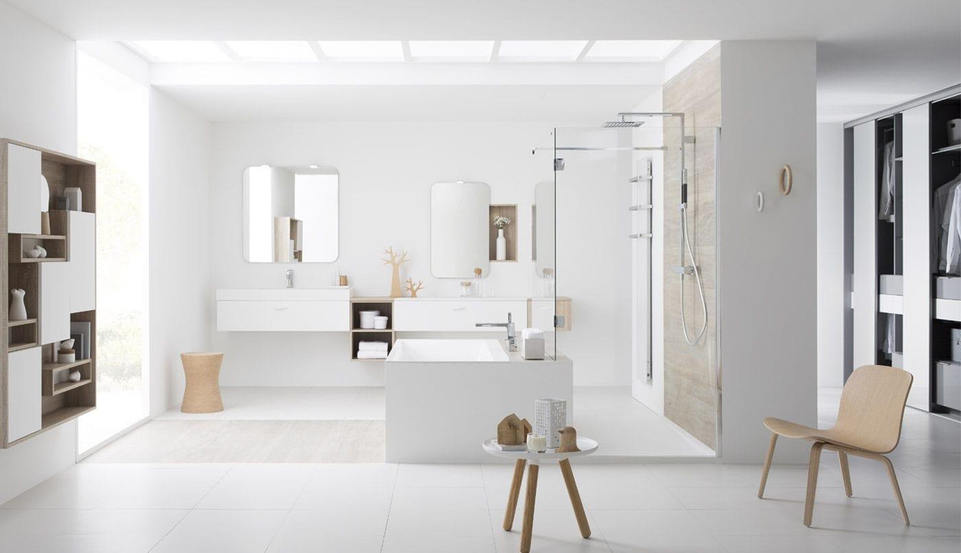 Salle De Bain Perene ~ salle de bain contemporaine laqu e douce sensualit perene