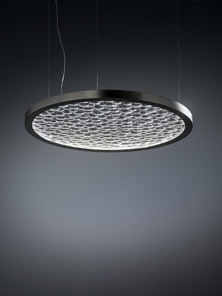 led design lighting. Awesome Lampe Suspension Design Original En Cristal Led Hydrogene By L Kemper With Lighting E