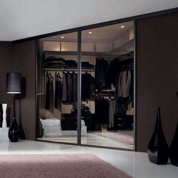 Porte D'Interieur / Pour Dressing / Coulissante / En Aluminium