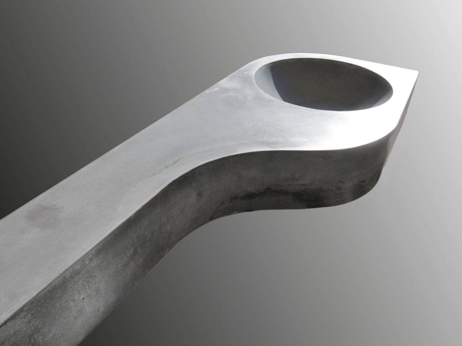 Plan vasque en béton bfuhp Ductal® - CIRCULAIRE - BALIAN BETON Atelier