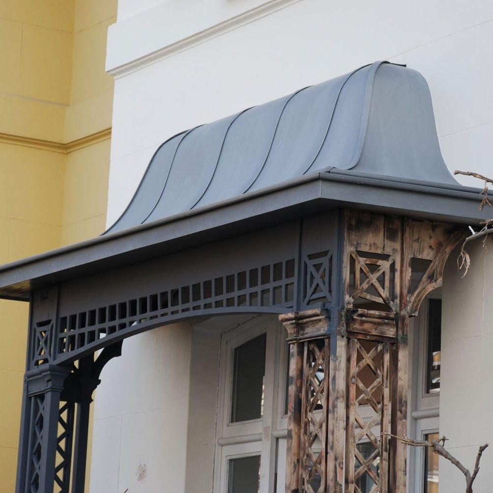 Auvent Pour Fenêtre Pour Porte En Acier Kensington Peters
