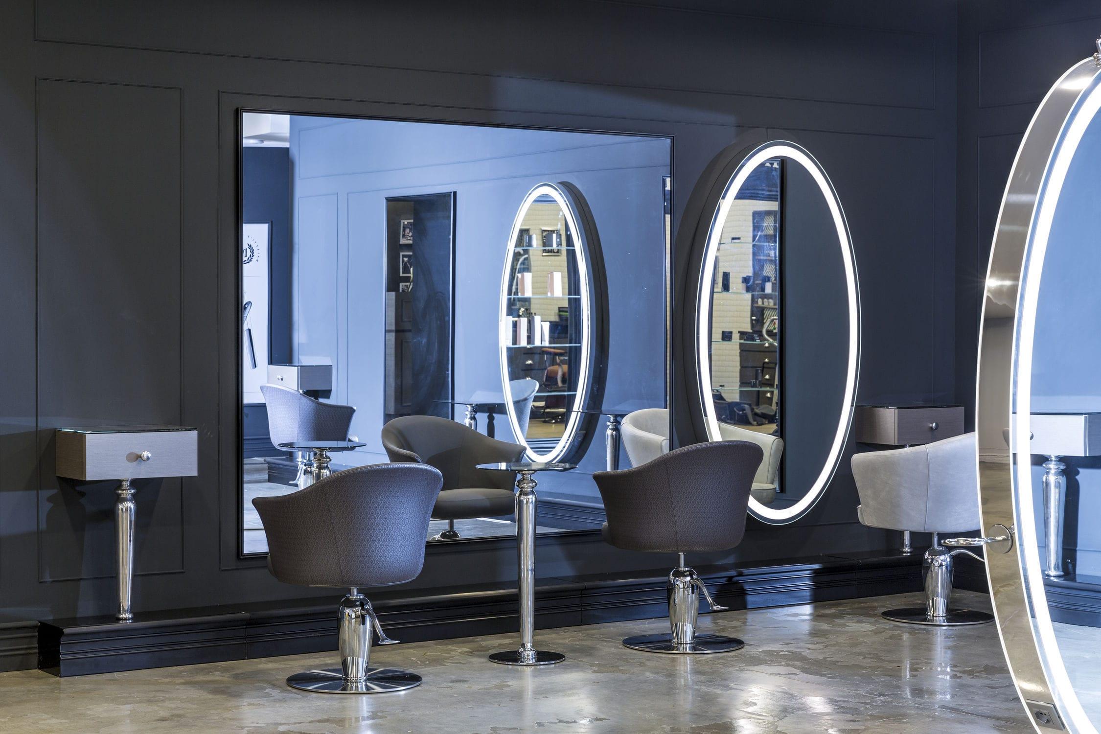 miroir mural contemporain rectangulaire pour salon. Black Bedroom Furniture Sets. Home Design Ideas