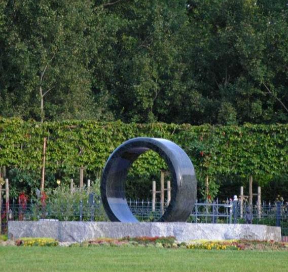 Fontaine de jardin / en pierre naturelle / contemporaine - FLOATING ...