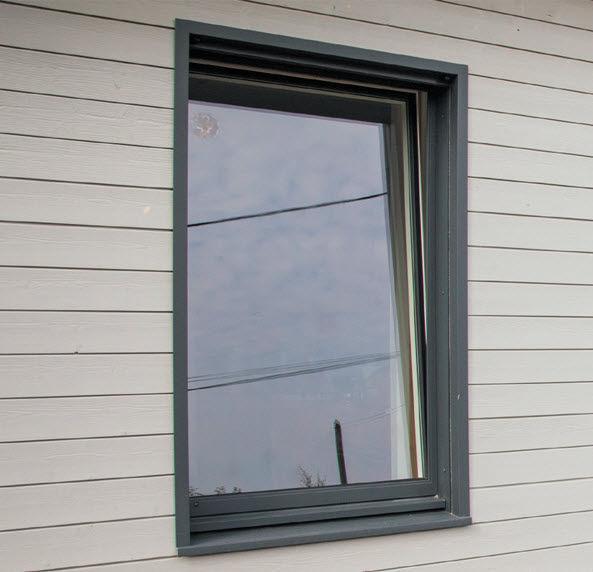 Fenêtre Battante à Soufflet En Aluminium En Pvc M3d Millet