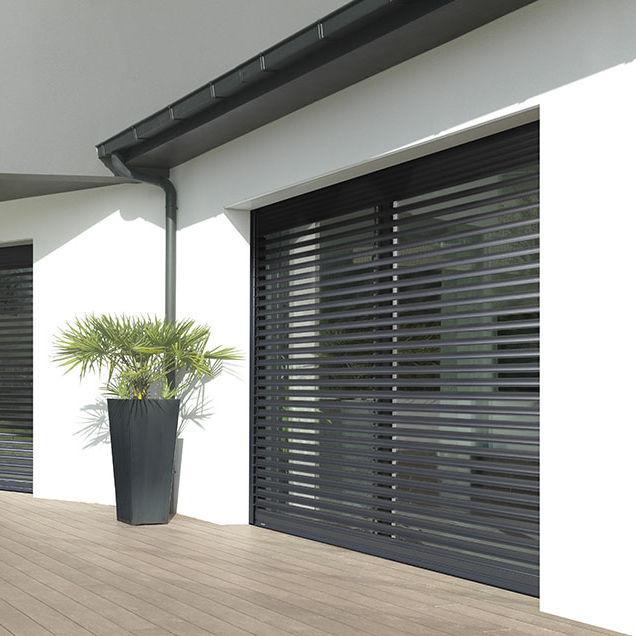 Brise Soleil En Aluminium Pour Fenêtre Horizontal Orientable Bso K Line